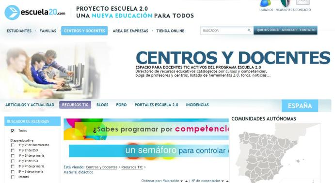 CientosRecursosClasificadosNivelesAsignaturas-Sitio-BlogGesvin
