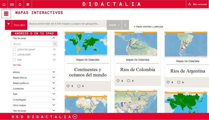 1500MapasInteractivosEspañolClaseGeografía-Sitio-BlogGesvin