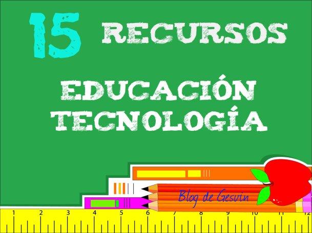 15RecursosEduTec