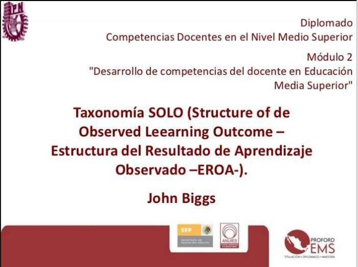 TaxonomíaSOLOJohnBiggs-Presentación-BlogGesvin