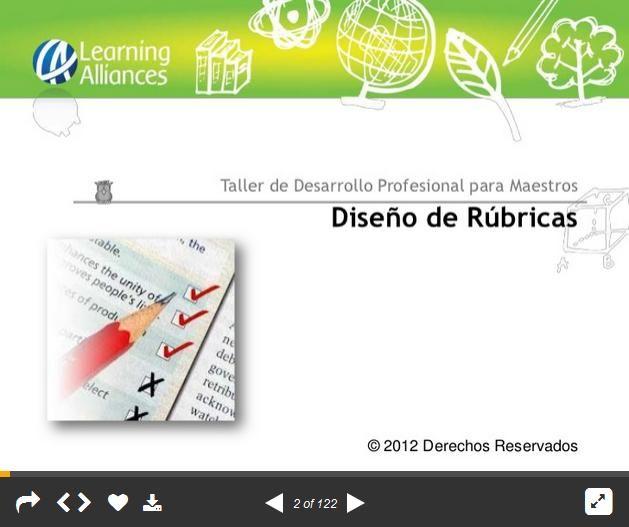 DiseñoRubricasTallerParaMaestros-Presentación-BlogGesvin