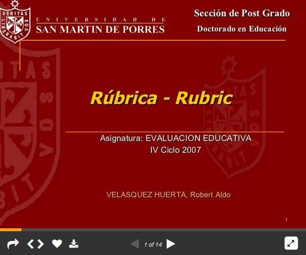 RubricaDeEvaluaciónUnaExplicaciónSencillaPráctica-Presentación-BlogGesvin