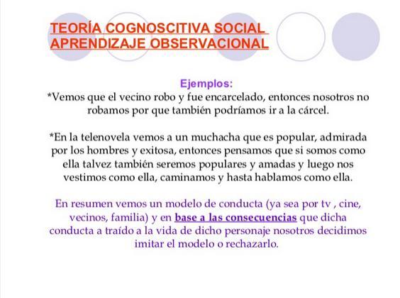 TeoríaAprendizajeSocial-Presentación-BlogGesvin