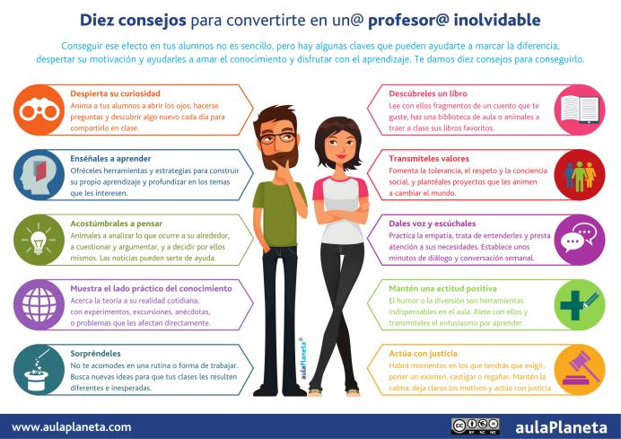 10ConsejosConvertirteProfesorInolvidable-Infografía-BlogGesvin