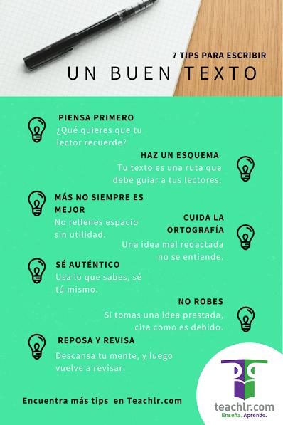 7ConsejosEscribirBuenosTextos-Infografía-BlogGesvin