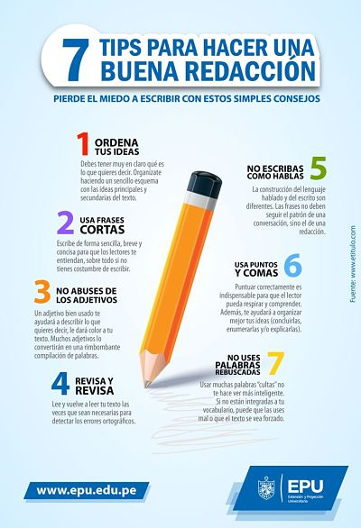 7RecomendacionesLograrBuenaRedacción-Infografía-BlogGesvin