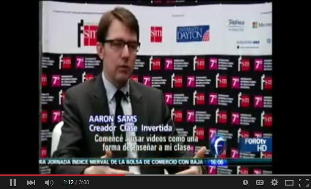 EntrevistaAaronSamsUnoCreadoresModeloClaseInvertida-Video-BlogGesvin