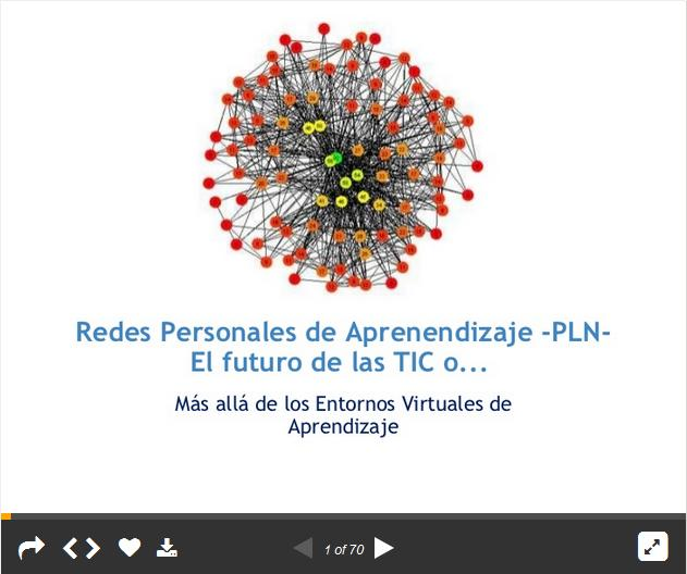 RedesPersonalesAprendizajeFuturoTIC-Presentación-BlogGesvin