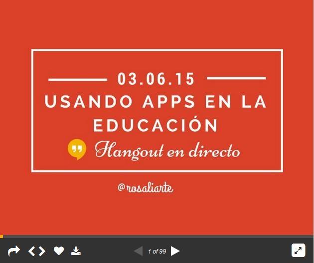 UsandoAppsEnEducación-Presentación-BlogGesvin