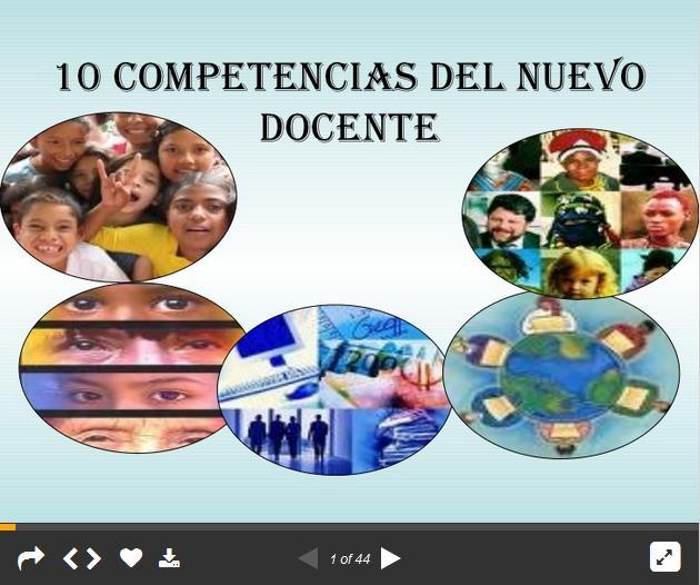 10CompetenciasClaveDocenteEmergente-Presentación-BlogGesvin