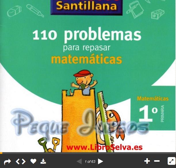 110ProblemasMatemáticos1erGradoPrimaria-Presentación-BlogGesvin