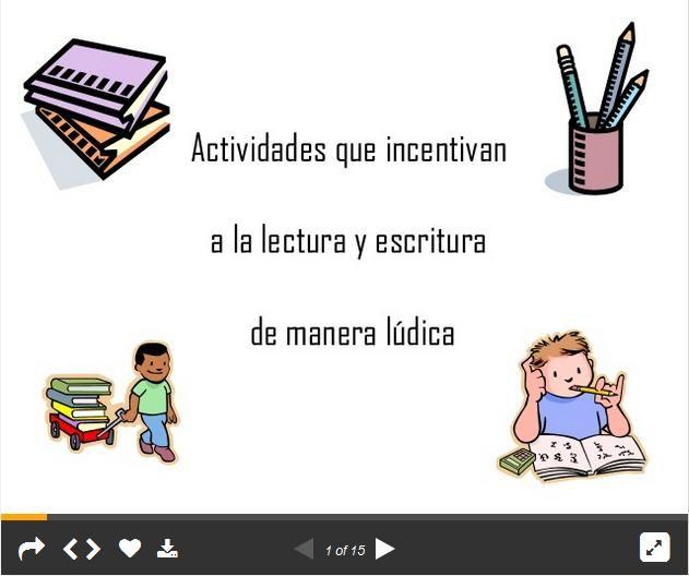 ActividadesLúdicasIncentivarLecturaEscritura-Presentación-BlogGesvin