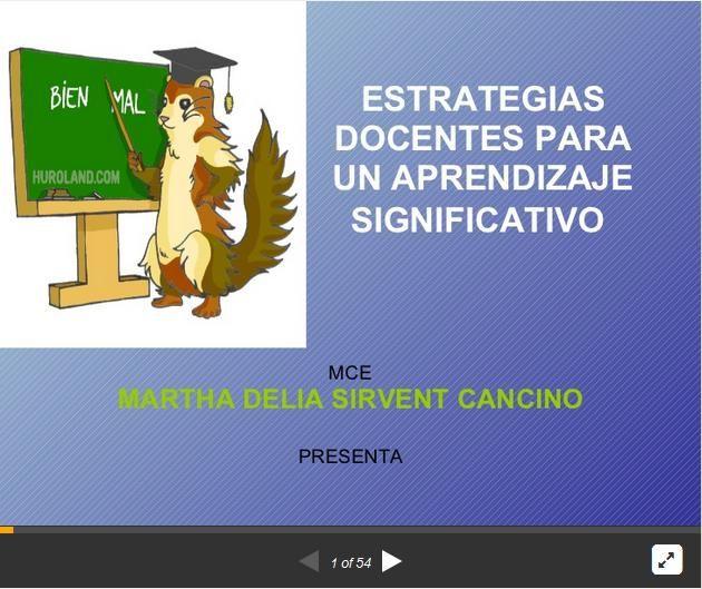 AprendizajeSignificativoEstrategiasDocentes-Presentación-BlogGesvin