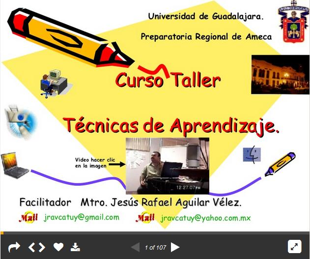 TecnicasAprendizajeMejorandoEnseñanzasAula-Presentación-BlogGesvin
