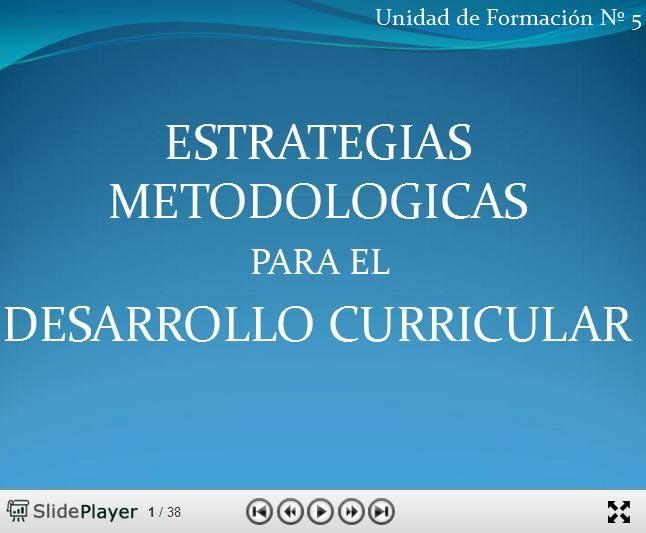 DesarrolloCurricularEstrategiasMetodológicasCambio-Presentación-BlogGesvin