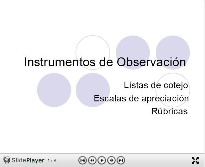 EvaluaciónObservación3InstrumentosAula-Presentación-BlogGesvin