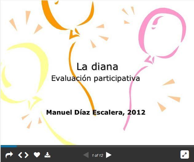 LaDianaEvaluaciónUnInstrumentoParticipativo-Presentación-BlogGesvin