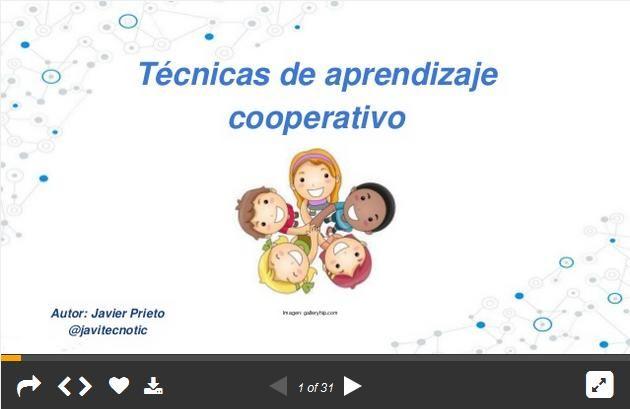 TecnicasAbordarAprendizajeCooperativo-Presentación-BlogGesvin