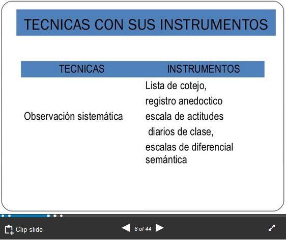 EvaluandoAprendizajesTécnicasSusInstrumentos-Presentación-BlogGesvin