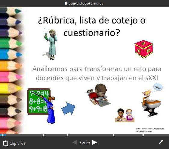 InstrumentosEvaluaciónCuestionarioRúbricaListaCotejo-Presentación-BlogGesvin