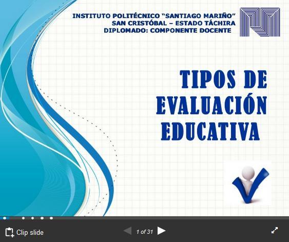 TiposEvaluaciónClasificadosFinalidadMomentos-Presentación-BlogGesvin