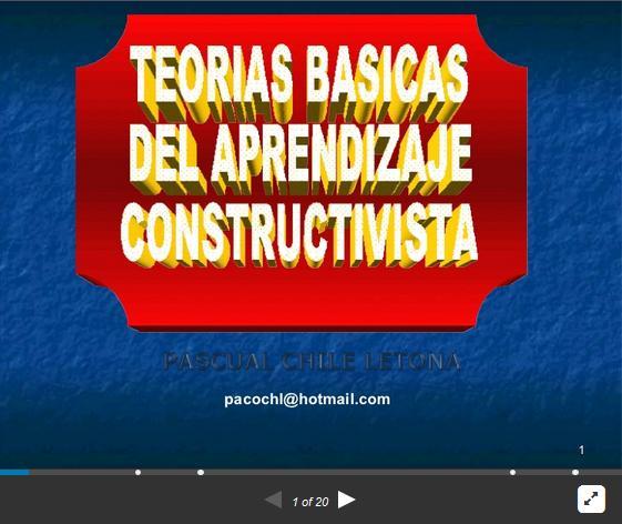 ConstructivismoTeoríasRepresentantes-Presentación-BlogGesvin