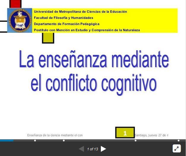 ConflictoCognitivoComoModeloEnseñanza-Presentación-BlogGesvin