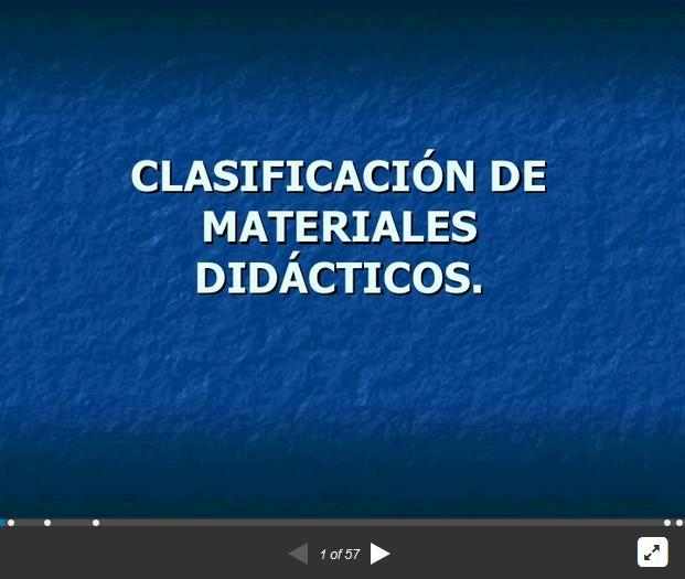 MaterialesDidácticosClasificaciónUsoAula-Presentación-BlogGesvin