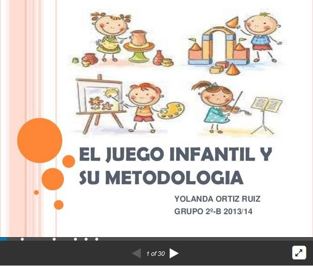 MetodologiaJuegoAulaInfantil-Presentación-BlogGesvin