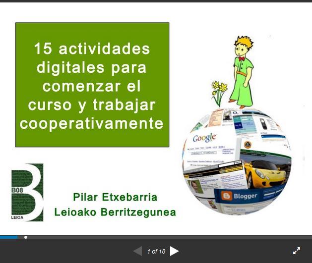 AprendizajeCooperativo15ActividadesApoyadasTIC-Presentación-BlogGesvin