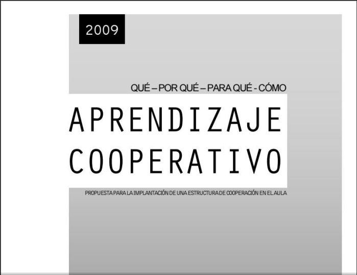 AprendizajeCooperativoPropuestaImplantaciónAula-eBook-BlogGesvin