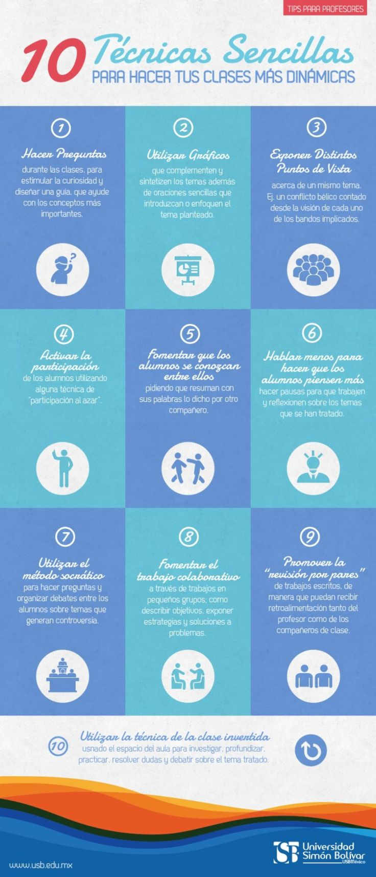 10TécnicasClasesMasDinámicas-Infografía-BlogGesvin