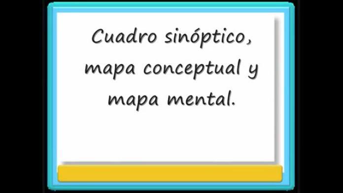 CuadroSinópticoMapaMentalConceptualGuíaRápidaCrearlos-Video-BlogGesvin