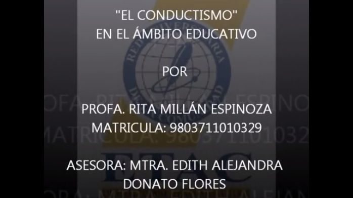 ElConductismoEducaciónFundamentos-Video-BlogGesvin
