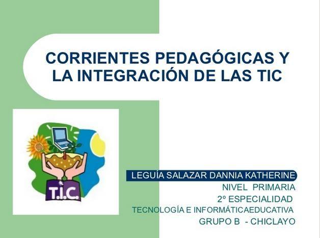 CorrientesPedagógicasIntegraciónTIC-Presentación-BlogGesvin
