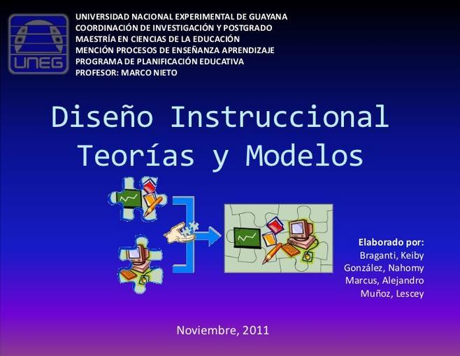 DiseñoInstruccionalTeoríasModelosAprendizaje-Presentación-BlogGesvin