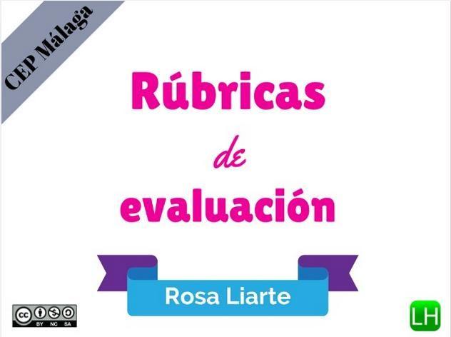 RubricasEvaluaciónEjemploCoevaluaciónUsandoTIC-Presentación-BlogGesvin