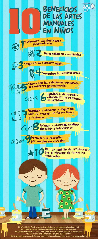 10 beneficios de las actividades manuales en los ni os