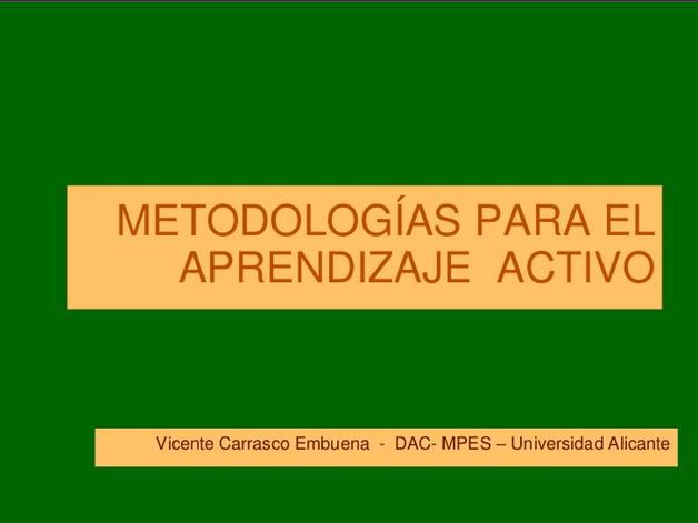 metodologiasparaaprendizajeactivo-presentacion-bloggesvin