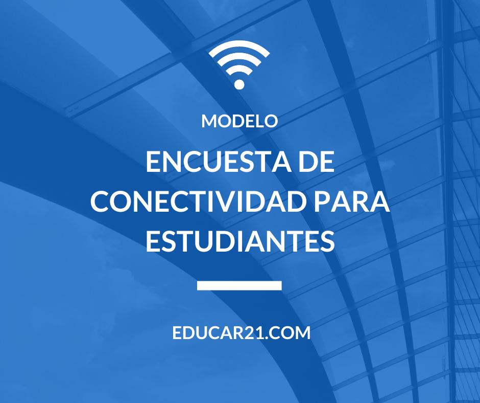 Encuesta de Conectividad para Estudiantes.
