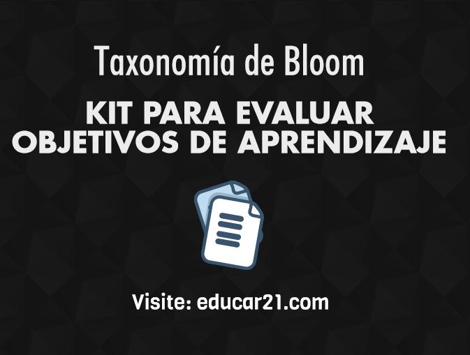 Kit para Evaluar Objetivos de Aprendizaje.