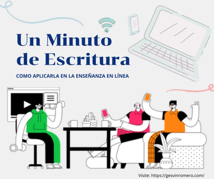 Tutorial Un Minuto de Escritura – Cómo Aplicarla en la Enseñanza en Línea