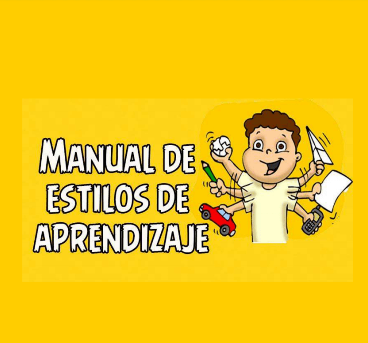 Manual de Estilos de Estilos de Aprendizaje.