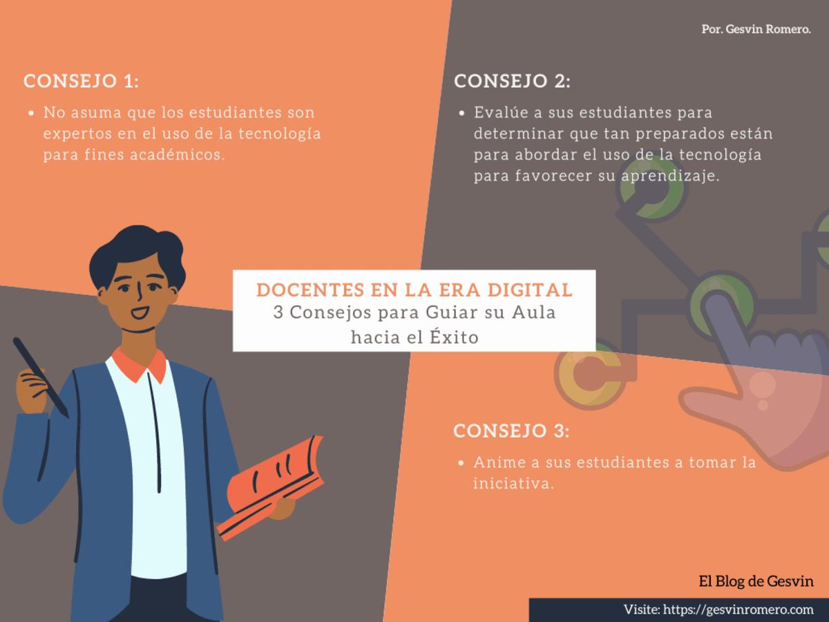 Docentes en la Era Digital - 3 Consejos para Guiar su Aula Hacia el Éxito.