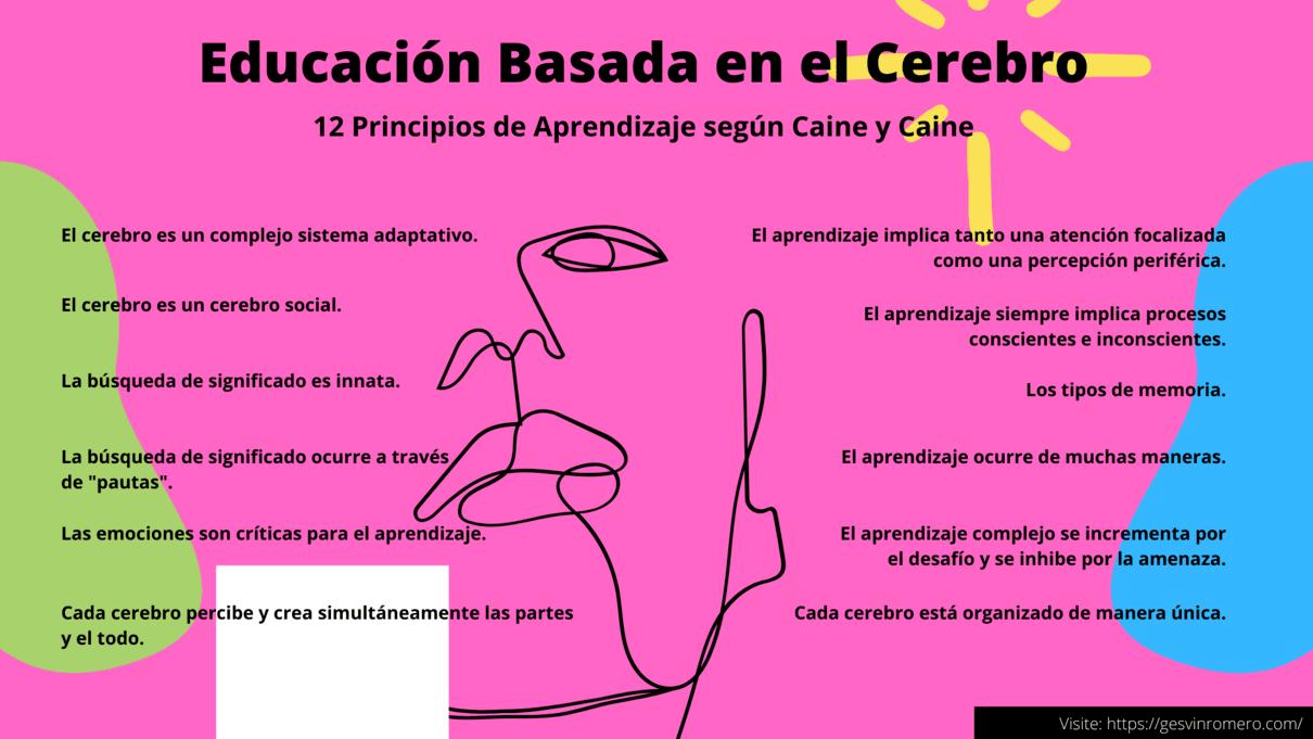 Educación Basada en el Cerebro - 12 Principios de Aprendizaje según Caine y Caine (Parte III)