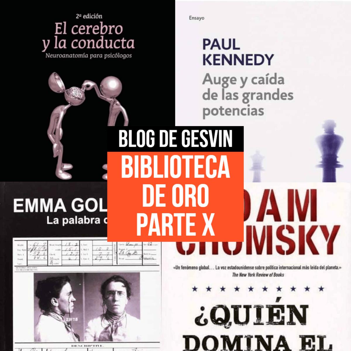 Biblioteca de Oro - Parte X