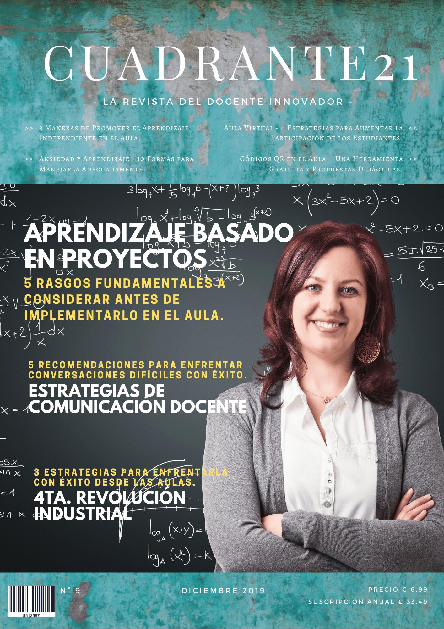 Revista Docente Cuadrante21 – Volumen 9.