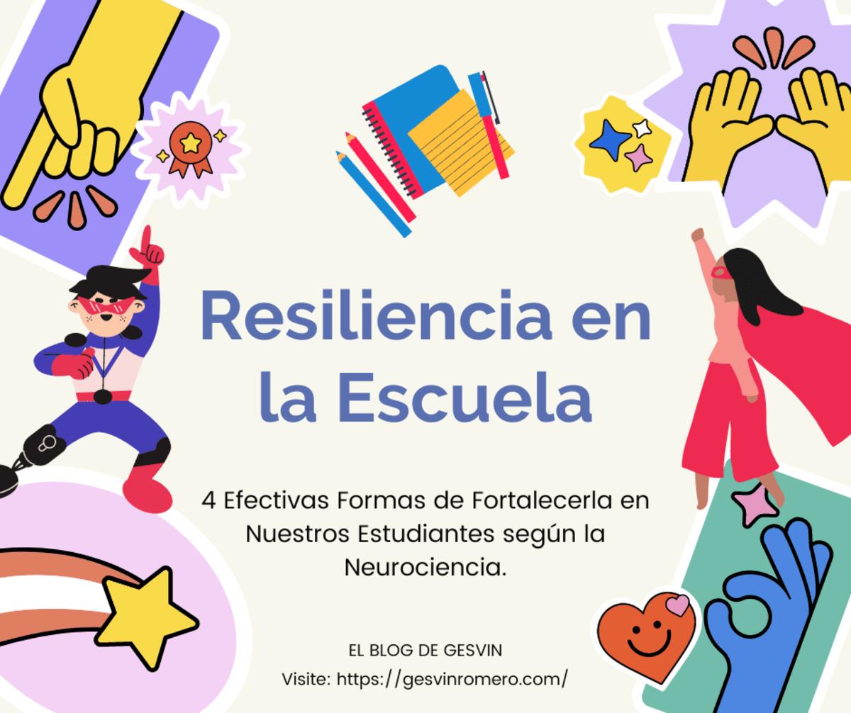 Resiliencia en la Escuela - 4 Efectivas Formas de Fortalecerla en Nuestros Estudiantes según la Neurociencia.